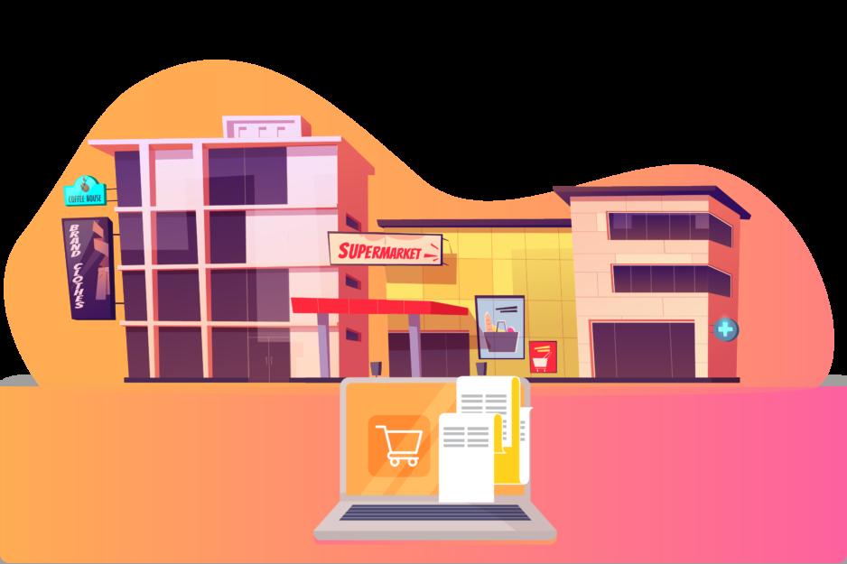 Exfi for Supermarket