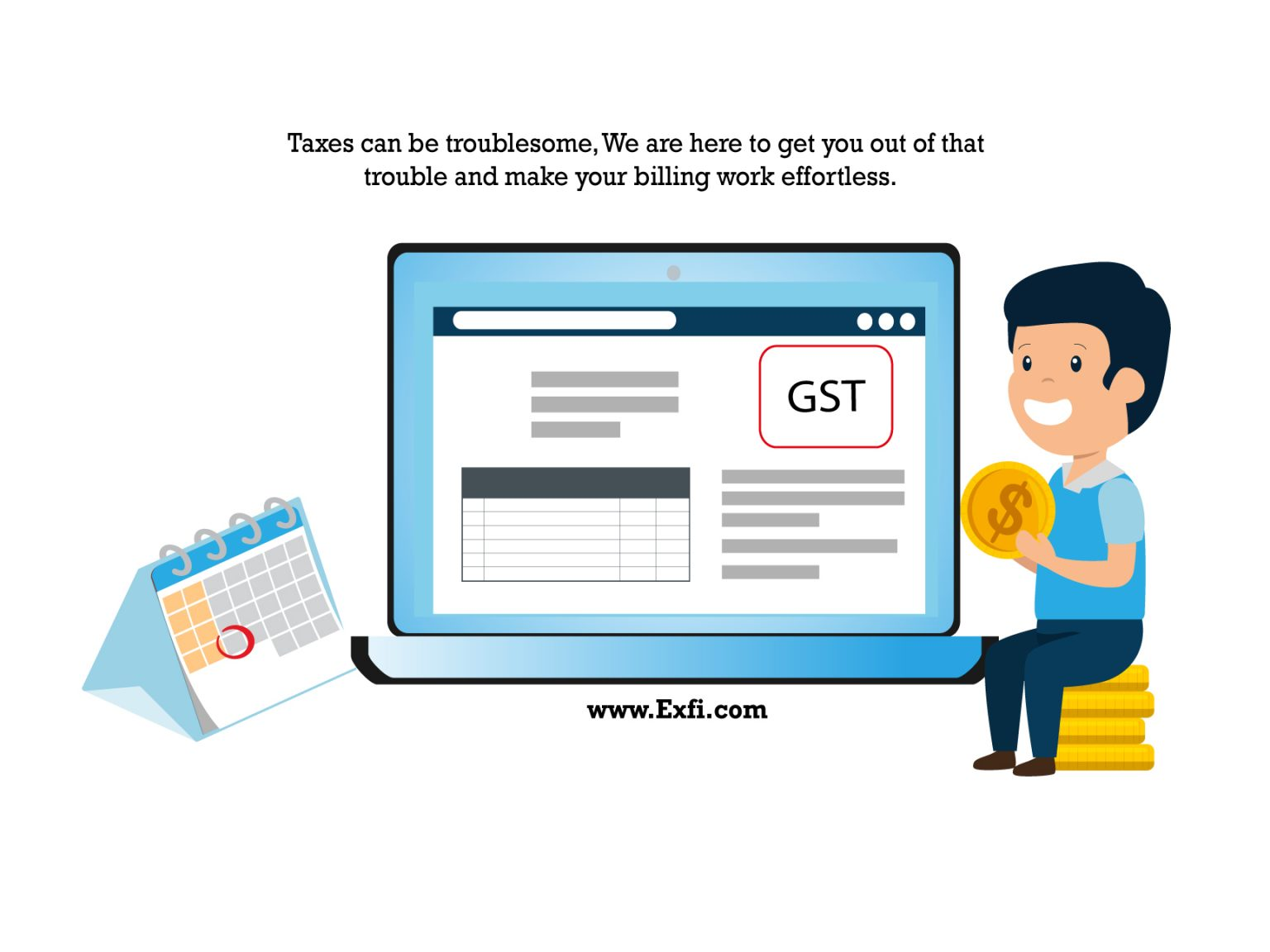 Exfi:- A GST billing software for all types of business